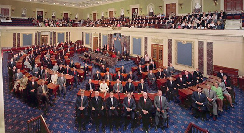 Bildergebnis für Historisch: Zum ersten Mal stimmte der US-Senat über einen illegalen Krieg ab
